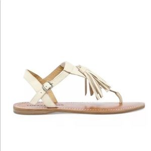 Lucky Brand Women's Anneke Sandals Size 7 Nude